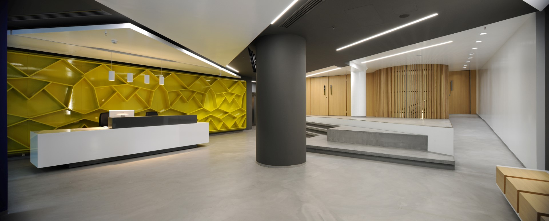 IEK AKMI S.A. Lobby Redesign in Thessaloniki