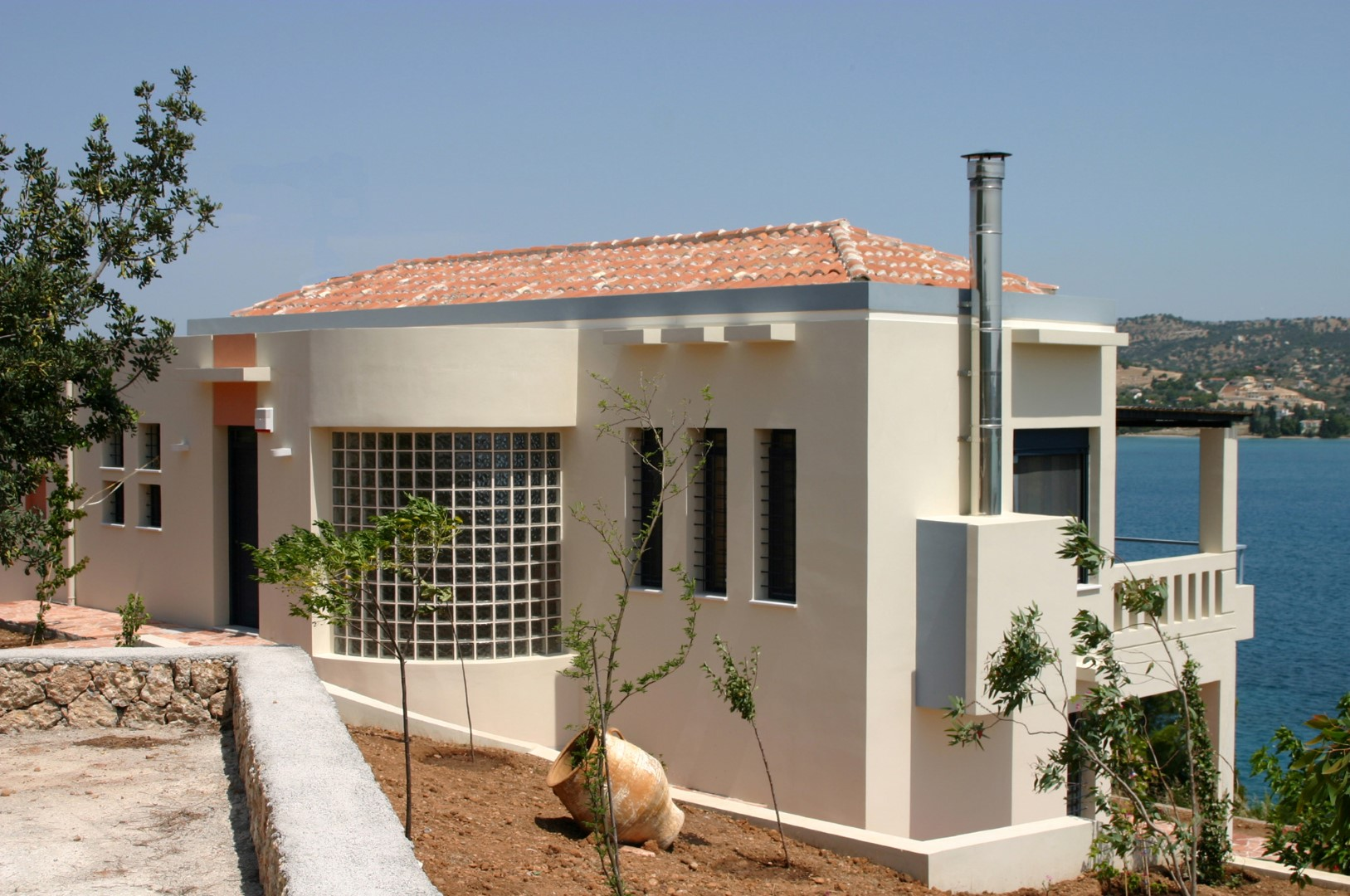 Two Storey Vacation House in Porto Heli